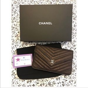 Like New RARE Authentic Chanel WOC